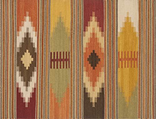 Vilber Bohemian Kilim 2576 Alfombra, Vinilo, Multicolor, 153x200x0.2cm
