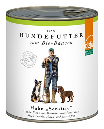 defu Huhn Sensitive Hunde-Menü