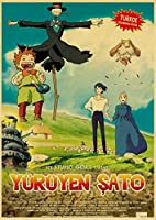 宮崎隼雄carrrtoon映画-大人と子供のための1000ピースジグソーパズル-手家族インタラクティブゲームの木製パズルライフアートパターン、素晴らしいホリデーレジャーウェディングギフト