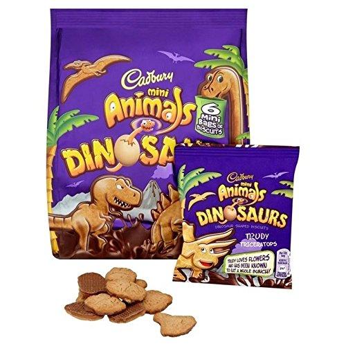 Cadbury Mini Dinosauri 6 X 22g (Confezione da 2)