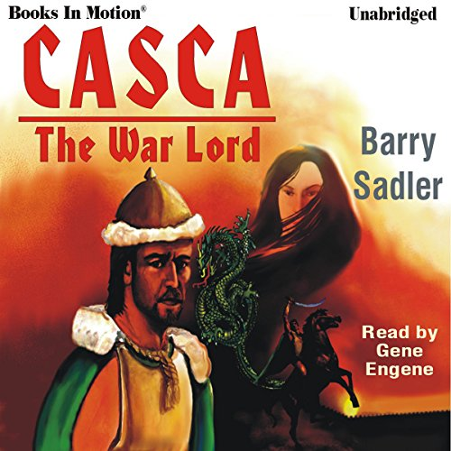 Casca the Warlord: Casca Series #3 audiobook cover art
