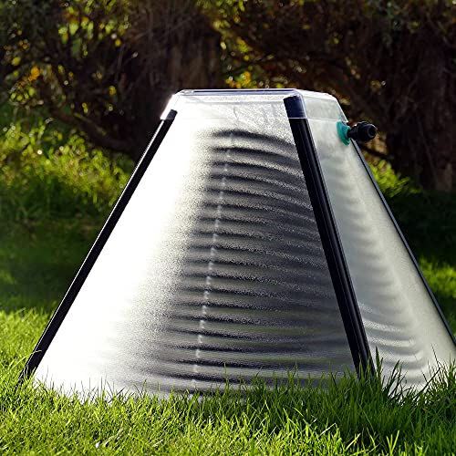 SolarisKit S400 Solar Pool Heater for Above Ground Swimming Pools; Attractive, Space Saving, and Low...