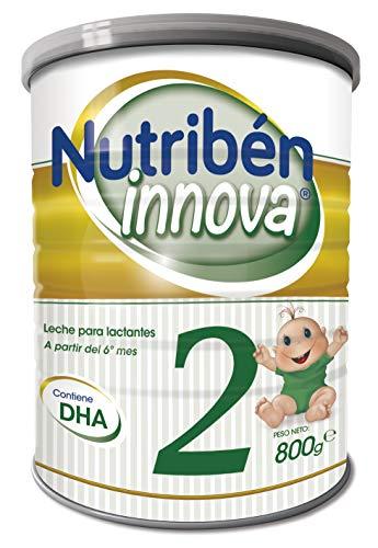 Nutribén Leche Infantil Innova 2, Desde Los 6 Meses, 800 Gramo