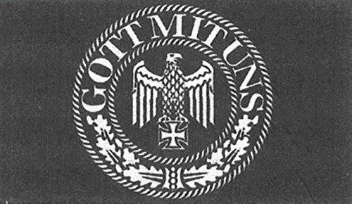 U24 Fahne Flagge Gott mit uns Deutsches Reich Deutschland 90 x 150 cm