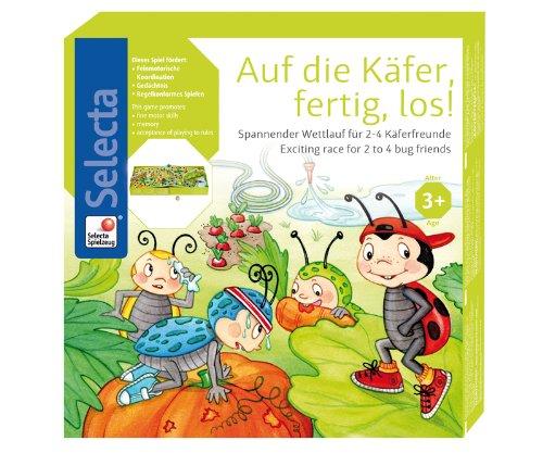 Selecta Spielzeug AG - 3509 - Jouet De Premier Age - À Vos Places, Bêtes, Partez