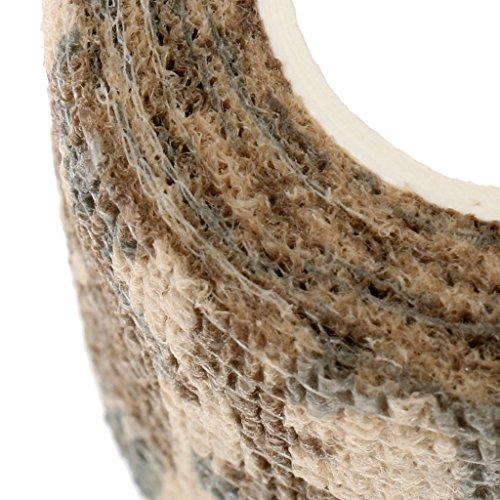Homyl Não Tecido Diy Caça Ao Ar Livre Tiro Camuflagem Stealth Tape Roll Auto Se Apega - Camuflagem para o deserto