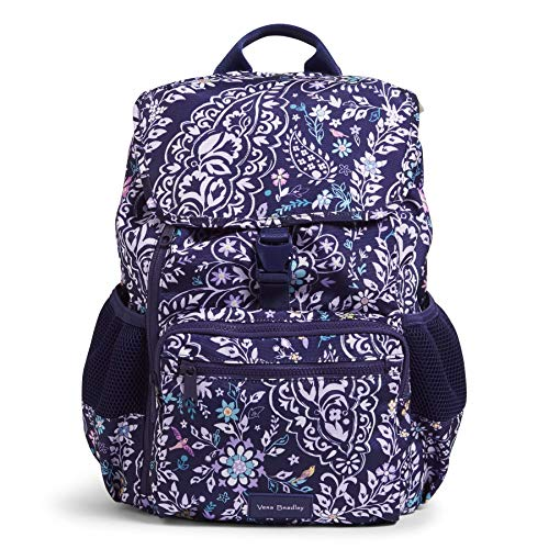 Vera Bradley Recycled Lighten Up Reactive Daytripper Backpack, Belle Paisley