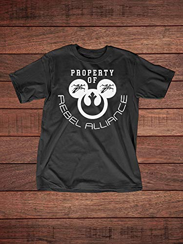 Star Wars Inspired Mickey Rebel Alliance - Adult T-Shirt