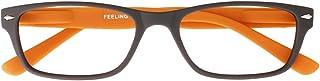 I NEED YOU Leesbril Feeling, 3.00 dioptrie, bruin-oranje