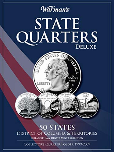 State Quarters 1999-2009 Deluxe Collector's Folder: District of Columbia and Territories, Philadelphia and Denver Mints (Warman's Collector Coin Folders)
