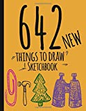 642 Things To Draw Sketchbook: New Drawing Prompts Notebook-journal-Creativity book