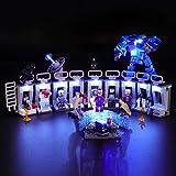 BRIKSMAX ライトキット レゴスーパー・ヒーローズ アイアンマンのホール・オブ・アーマー 75125 専用 - レゴセットは含まれません