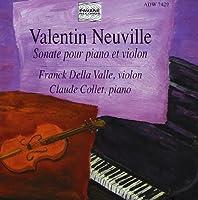 Neuville:Sonata for Piano & VI