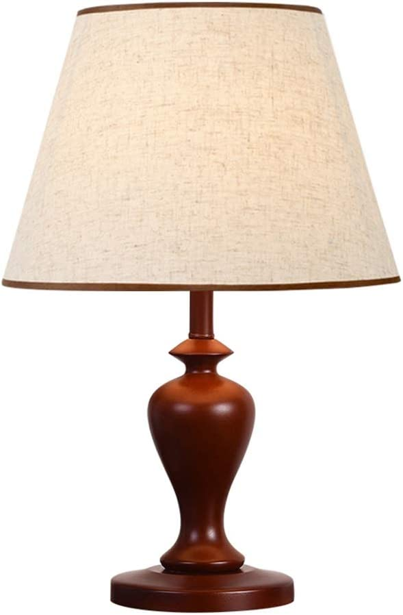 HONGFEISHANGMAO Branded goods Desk Lamps Chinese Style Wooden Table Bedro Lamp Super sale period limited