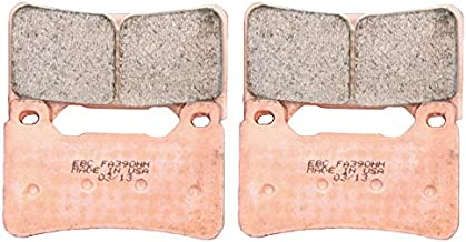 EBC Brakes EBPCK2001 Front Double-H Sintered Brake Pad Change Kit