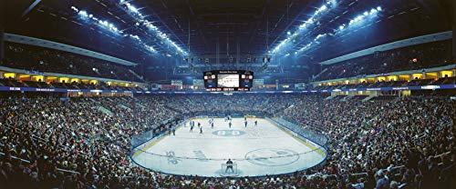 Berlin Eishockey Arena Panorama – Poster 120 x 50 cm – hochwertiger FineArtPrint