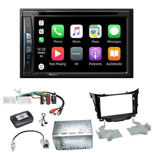 Pioneer AVIC-Z610BT - Sistema de navegación para Coche (USB, CD, DVD, Bluetooth, MP3, WMA, 2 DIN, para Hyundai i30 GD GDH)