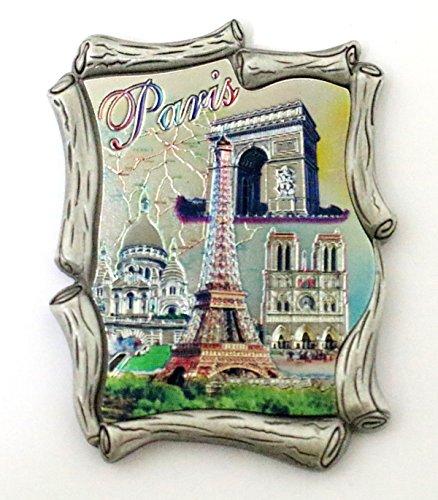 AKER Magnet Aimant de frigo Cuisine Souvenir de France Paris métal Cadeaux G122 5x6cm