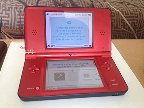 Nintendo DSi XL Roja Mario