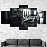 GHYTR Leinwanddrucke Kreatives Geschenk 5 Stück Leinwand