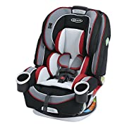 All-in-1 convertible car seat grows with your child, enjoy 10 years of use from 4 - 120 lb Simply Safe Adjust Harness System adjusts the height of harness and headrest (10 positions) in one motion The 4Ever convertible car seat has been side impact t...