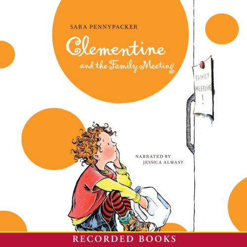 Clementine and the Family Meeting audiobook cover art
