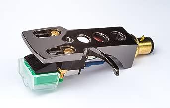 Titanium plated Headshell, AT Cartridge, Elliptical Stylus for AKAI AP-D33, AP-001C, AP-206C, AP-Q70, AP-207, AP-Q60, AP-002, AP-207, AP-100/C, AP-004, AP-D40, AP-004X, AP-003, AP-206, - UK MADE