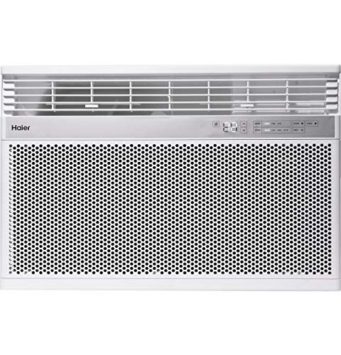 Haier 18,000 BTU 230-Volt Smart Window Air Conditioner, Energy Star humidty-Meters, 230V
