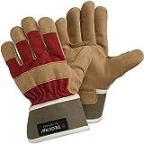Ejendals 90088-7 Handschuh Tegera 90088' aus Synthetikleder Größe 7, braun/rot, 7