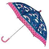 Stephen Josheph Gifts Kids' Little Girls' Stephen Joseph All Over Print Umbrella, RAINBOW, one size