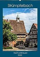 Struempfelbach - Fachwerkhaeuser (Wandkalender 2022 DIN A2 hoch): Historisches Dorf mit romantischen Fachwerkhaeusern. (Monatskalender, 14 Seiten )
