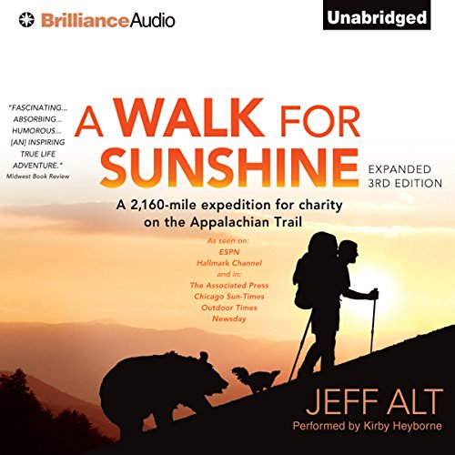 A Walk for Sunshine audiobook cover art