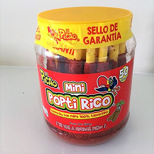Mexican Candy Tamarind Paste Candy Spicy Sticks Straw Chili Powder...
