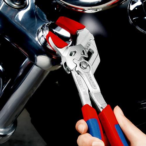 Knipex Zangenschlüssel – Greifzange und Schraubenschlüssel, 250 mm, Greifweite bis 46 mm - 8