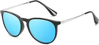 ProudDemon - Vintage Gafas de Sol Polarizadas Hombre UV400 Moda Protección Lentes de Sol