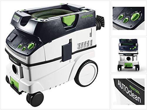 Festool CTL 26 E AC CLEANTEC - Aspirateur mobile - N° du fabricant : 574945 - Noir/vert -