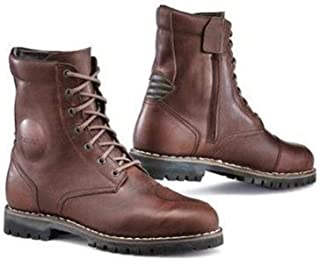 TCX Hero Men's Street Motorcycle Boots - Vintage Brown/EU 44 / US 10
