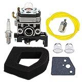 Panari Carburetor + Air Filter Spark Plug for Honda GX35 HHT35 HHT35S String Trimmer 16100-Z0Z-034