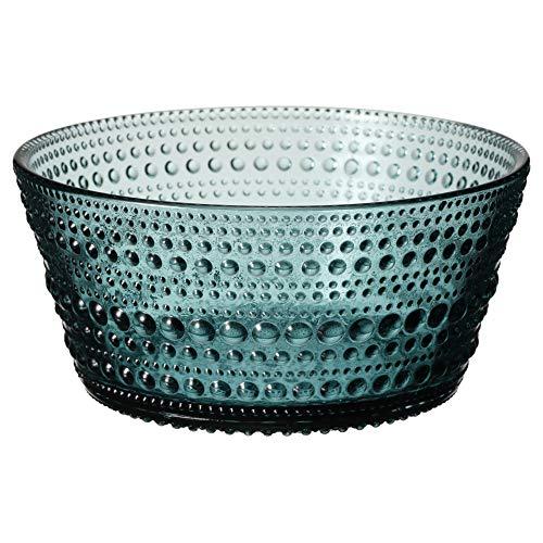 Iittala 1026960 Kastehelmi Schale 23cl, seeblau, Glas