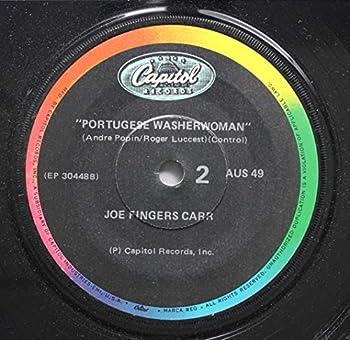 Joe Fingers Carr 45 RPM Portugese Washerwoman / Music Box of Danger