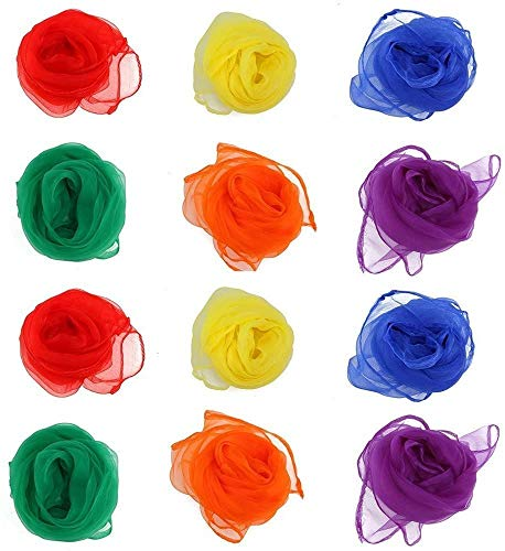 LVEDU Jonglier-Tücher, Spielzeug zur sensorischen Förderung