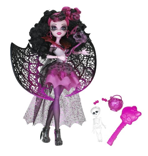 Monster High - X3716 - Poupée et Mini-Poupée - Halloween - Draculaura