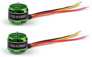 (2pcs) Happymodel SE1102 1102 9000KV 2s Brushless Motor for 120mm 130mm Mantis85 ET100 Indoor 2/2.5/3 inch Micro FPV Racing Carbon Fiber Drone Quad Quadcopter Frame