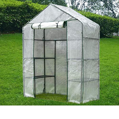 estructura invernadero de la marca MAHFEI-sombra Solar