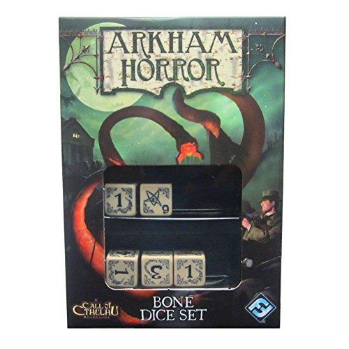Board Game - Arkham Horror Bone Dice Set - Expansion - Fantasy Flight
