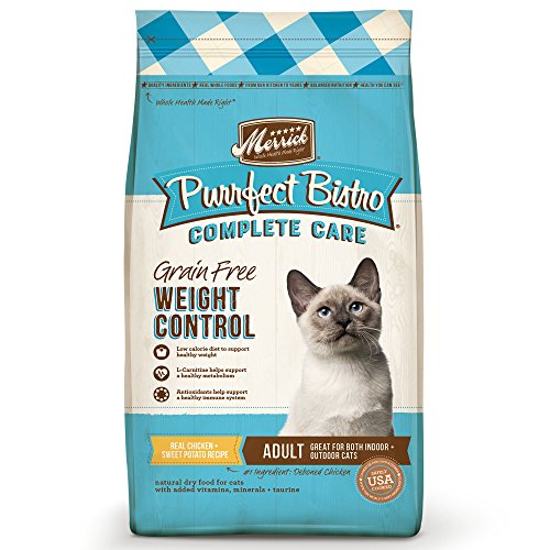 Merrick Purrfect Bistro Complete Grain Free Care Dry Cat Food Weight Control Recipe