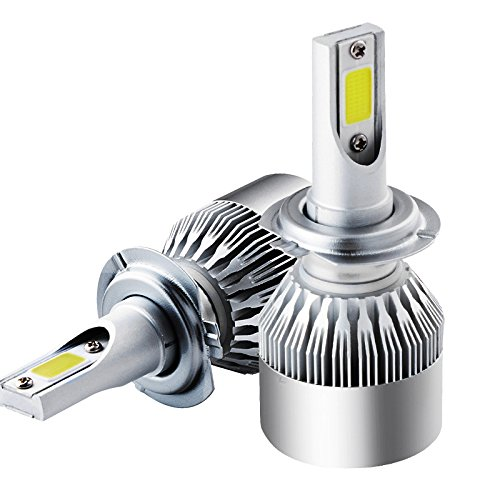 H7 72 W 6000 K 7600lm Turbo de voiture Phare LED CSP Chips kit ampoules Blanc lampe haute puissance C6 a