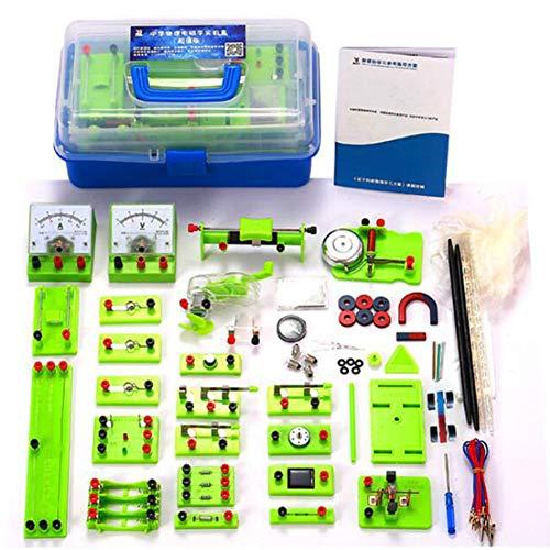Conjunto Experimentos Electricidad Y Magnetismo Kit Básico Aprendizaje Circuito Básico para Niños Estudiantes De Secundaria Y Bachillerato Electromagnetismo