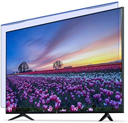 Pantalla de pantalla de televisión de 55 pulgadas Pantalla protectora de acrílico para TV Pantallas de TV Proteger la película de filtro de la fatiga del ojo de la vista de la vista para el afilado /