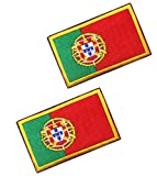2pcs Portugal Flag...image